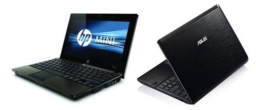HP Mini 5103 и Asus EEE PC 1016P